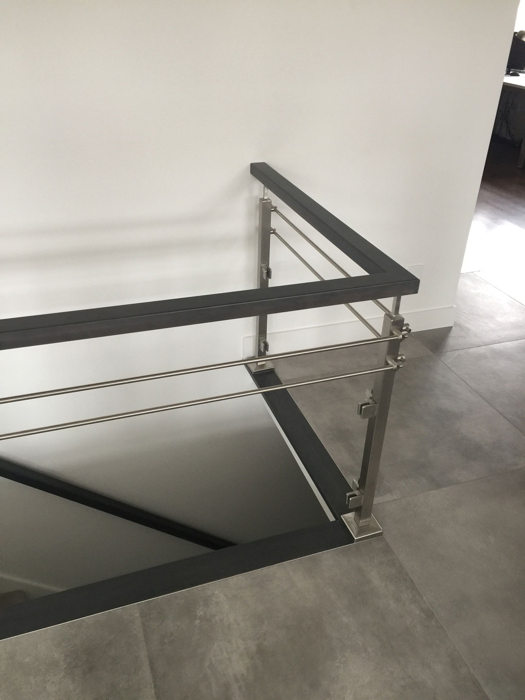 Stairs Amp Glass Railings Photo Gallery Glass Experts