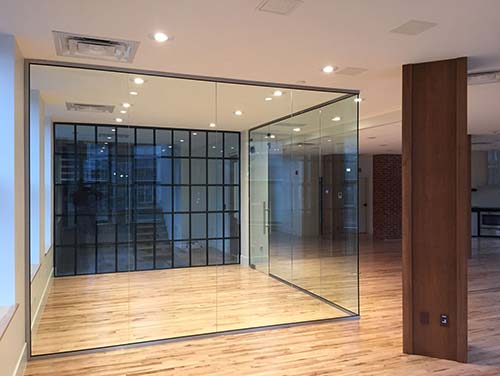 Glass wall residential office, Glass Expert