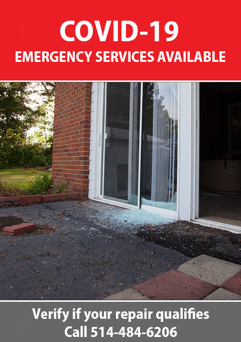 Glass Emergency Services Montreal