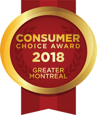 Consumer Choice Award 2018 - Greater Montreal